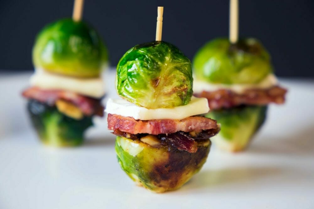 Cloverdale Bacon Brussel Sprouts Sliders