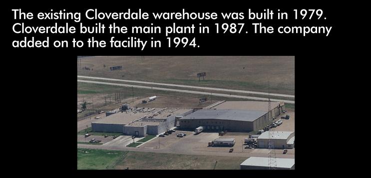 Cloverdale warehouse built in 1979